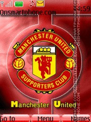Manchester Logo theme screenshot