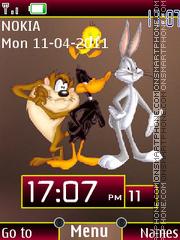 Bugs Bunny N Friends theme screenshot