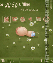 Скриншот темы Newborn