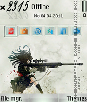 Fighter 01 theme screenshot