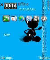 Kitty. tema screenshot
