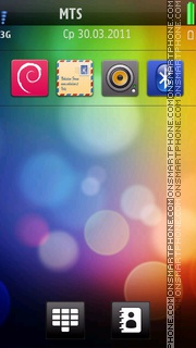 Htc Latest Nokia Hs tema screenshot