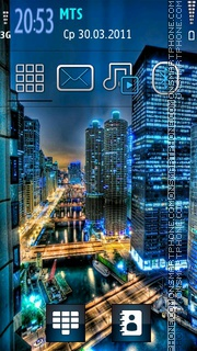Night City 06 es el tema de pantalla