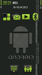Android V3 theme screenshot