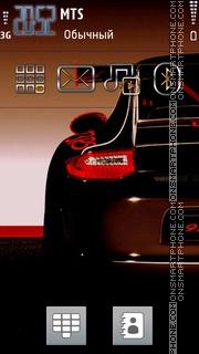 Carrera 911 theme screenshot