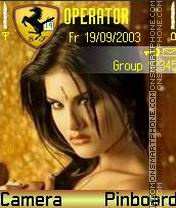 Sunny leone 6 theme screenshot