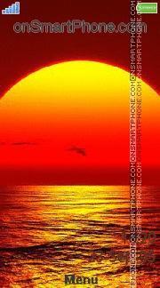 Aino Sunset es el tema de pantalla