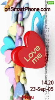 Love Me 05 es el tema de pantalla
