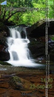 Waterfall 06 es el tema de pantalla