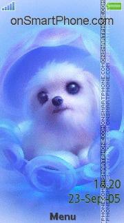 Cute Puppy 04 es el tema de pantalla