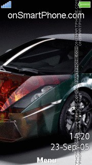 Lamborghini Gallardo 07 es el tema de pantalla