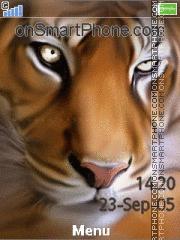 Tiger Eyes 01 es el tema de pantalla