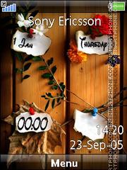 Note Clock 03 theme screenshot