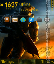 Скриншот темы Spartan