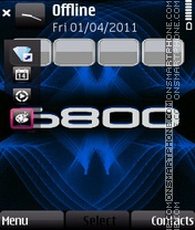 5800 theme screenshot