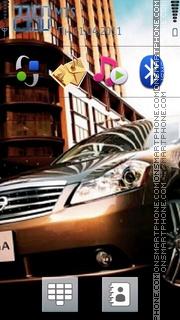 Nissan Fuga theme screenshot