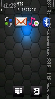 Android Htc 3d theme screenshot