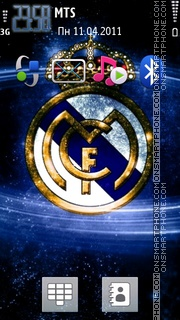 Real Madrid 2028 tema screenshot