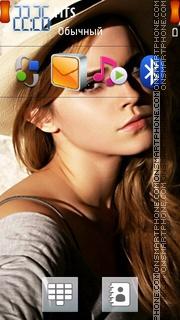 Emma Watson 25 theme screenshot