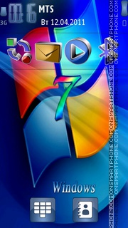 Window 7 3d theme screenshot