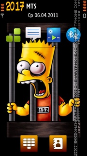 Bart 01 theme screenshot