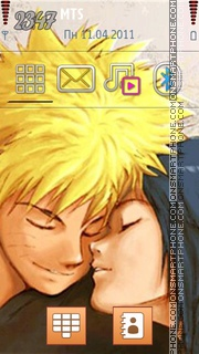 Naruto And Hinata 02 theme screenshot