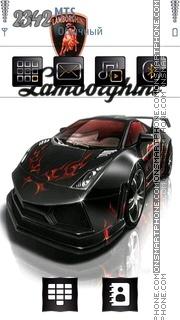 Lamborghini 07 theme screenshot
