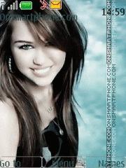 Miley Cyrus 02 theme screenshot
