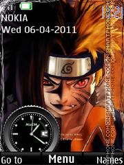 Naruto and Saske theme screenshot