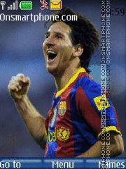 Messi 07 theme screenshot