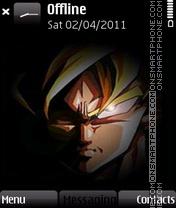 Goku ssj theme screenshot