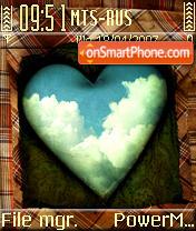 Heart Sky es el tema de pantalla