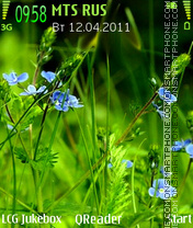 Grass tema screenshot