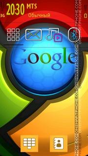 Google chrome 01 theme screenshot
