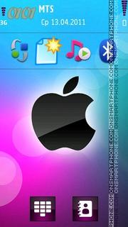 Nokia C7 Funky theme screenshot