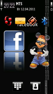 Facebook 06 theme screenshot