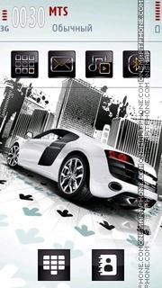 Audi R8 24 theme screenshot