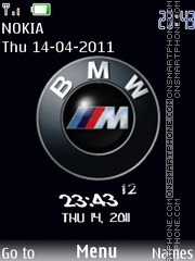 Bmw Swf theme screenshot