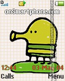 Doodle jump v2.0.7.59 es el tema de pantalla