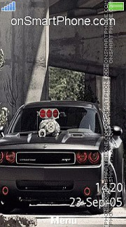 Dodge Challenger Srt 02 es el tema de pantalla