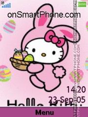 Capture d'écran Bunny Kitty Easter thème