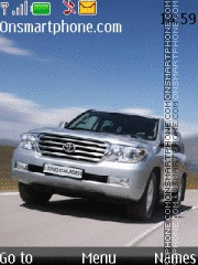 Toyota Land Cruiser 200 01 theme screenshot