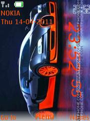 Bugatti Veyron Super 01 tema screenshot