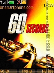 Gone in 60 second theme screenshot