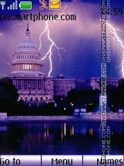 Lightning City theme screenshot
