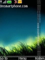 Night Grass theme screenshot