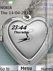 Heart Clock 02 es el tema de pantalla