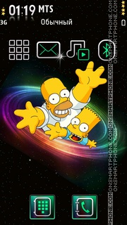 Simpson 07 theme screenshot