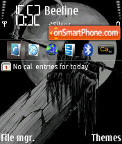 Reaper 1 theme screenshot