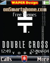 Double Cross Vodka 2 Theme-Screenshot